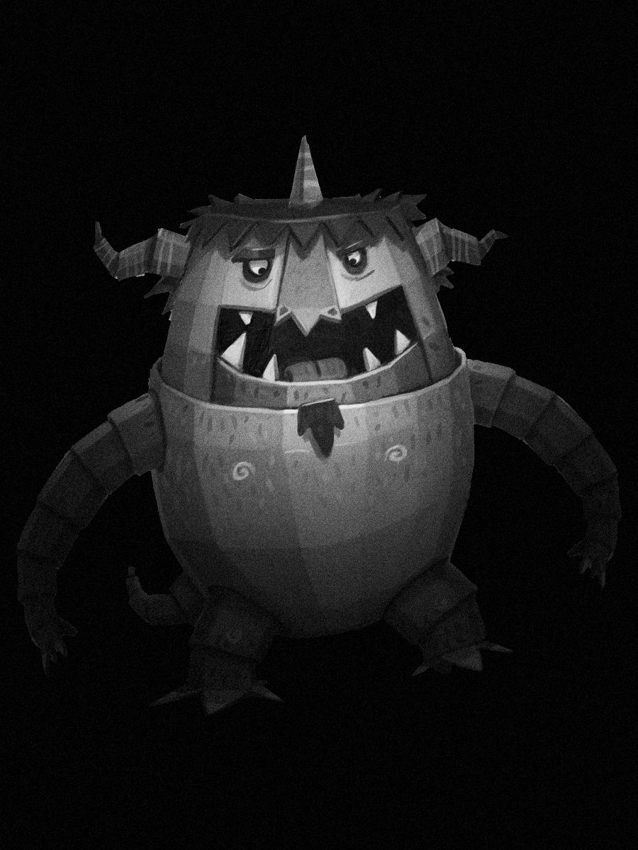 El Monstruo que no dejaba ir a los niños al colegio